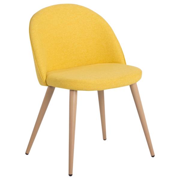 Трапезен стол - 514 ярко жълт