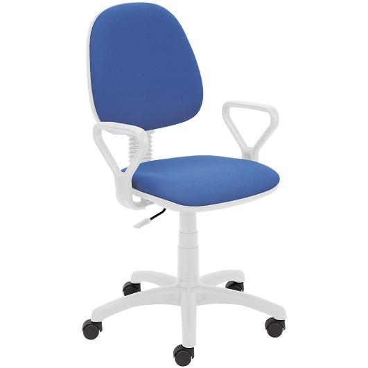 Работен стол - Regal White син