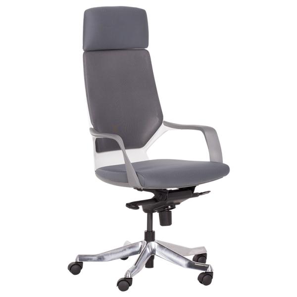 Директорски стол -Gino сив