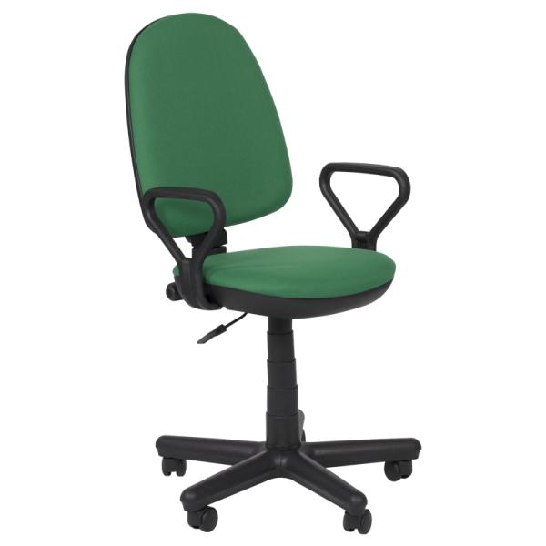 Работен стол - Comfort тъмно зелен