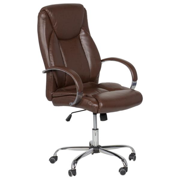 Директорски стол - 6501 искрящо кафяв
