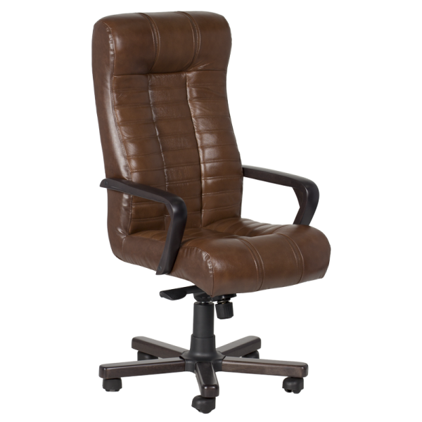 Директорски стол - Atlas кафяв LUX