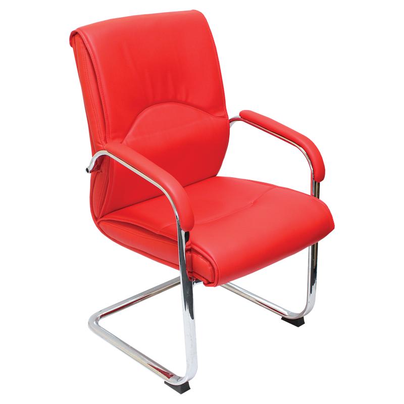 Посетителски стол - 6040 червен