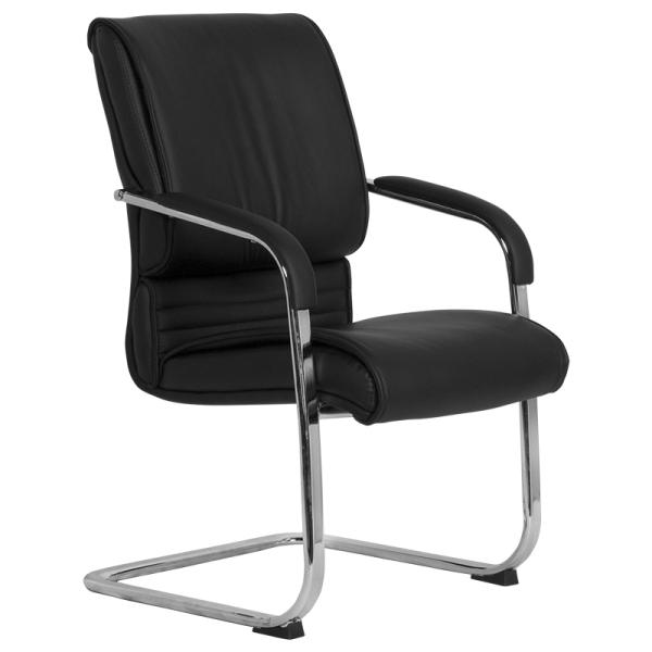 Посетителски стол - 6541 черен